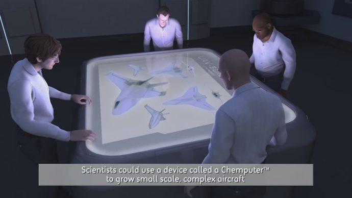コンピューターで戦闘機を設計