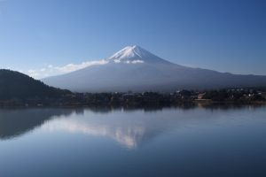 reflection-fuji-japan-mountain-lake-travel