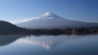 reflection-fuji-japan-mountain-lake-travel