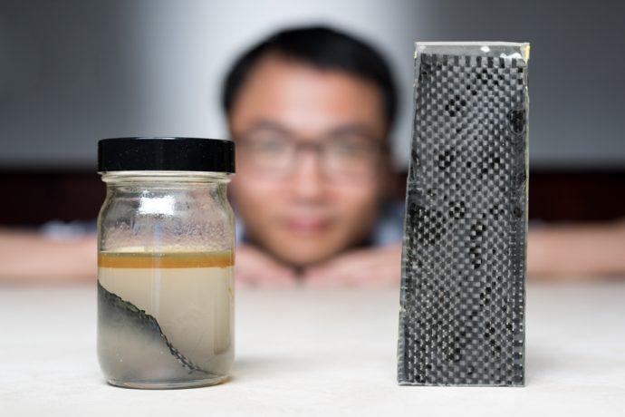 Kai Yu and carbon fiber recycling at RBI