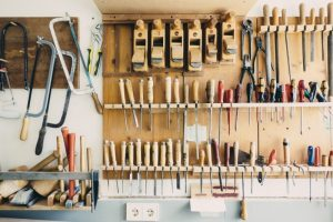 carpenters-tools-hanging-on-wall